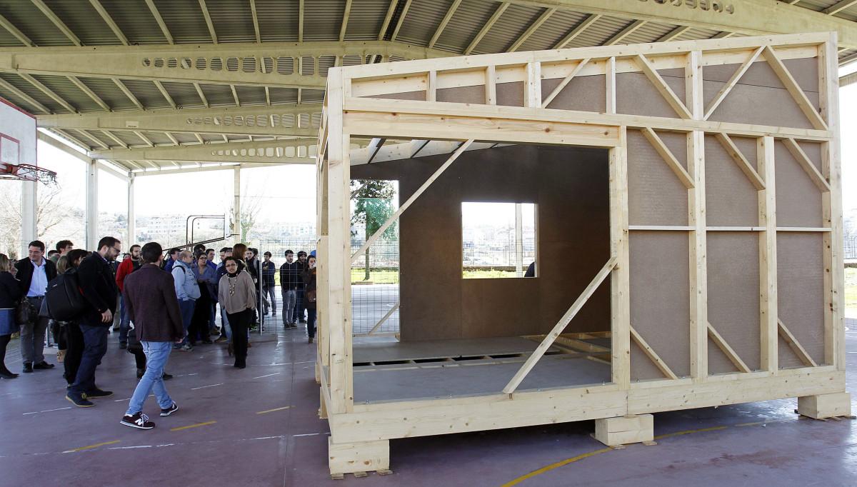 La caseta ecol gica 39 o lecer 39 un proyecto colaborador que for Esquelas el mueble melide