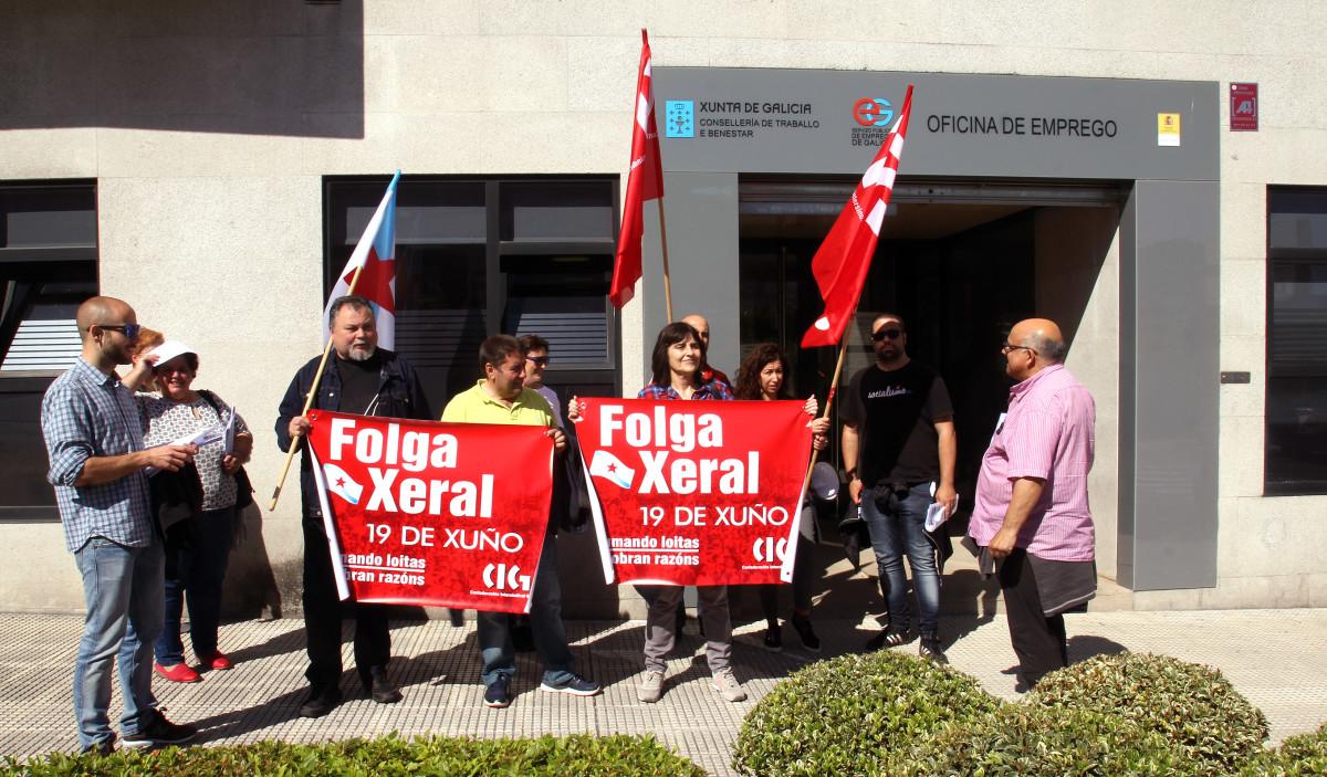 A cig denuncia os recortes en prestaci ns asistenciais e for Oficina de emprego galicia
