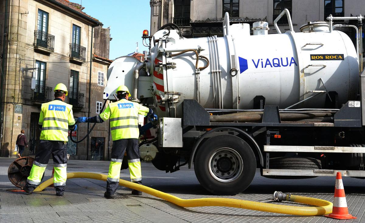 Pontevedra prorroga o contrato de viaqua para o servizo da for Servicio tecnico roca pontevedra