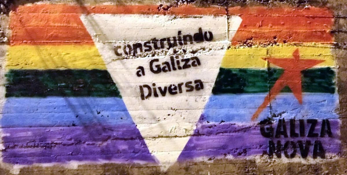 Resultado de imagen de mural galiza nova multa