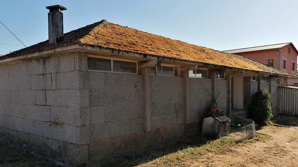 La nueva cubierta de la escuela de Cangrallo costará cerca de 25.000 euros