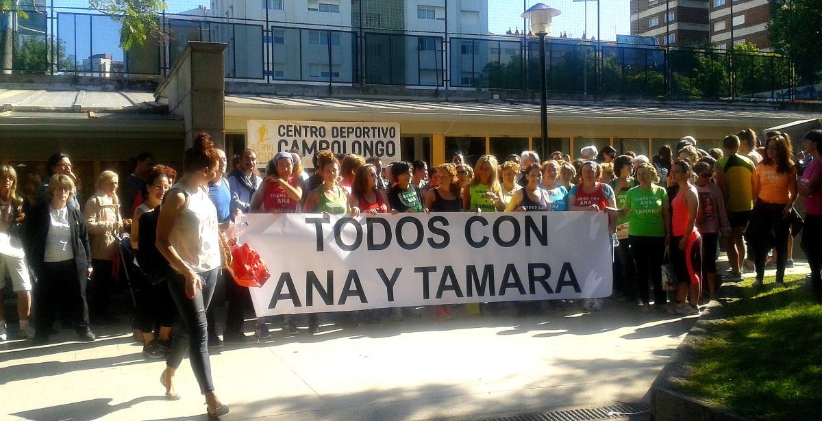 Ana e tamara presentan a s a petici n de indulto ante o for Piscina campolongo