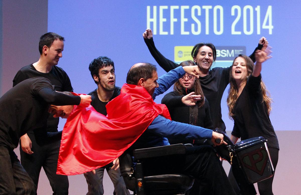 programa Hefesto 2015 achega a persoas con discapacidade aos medios de