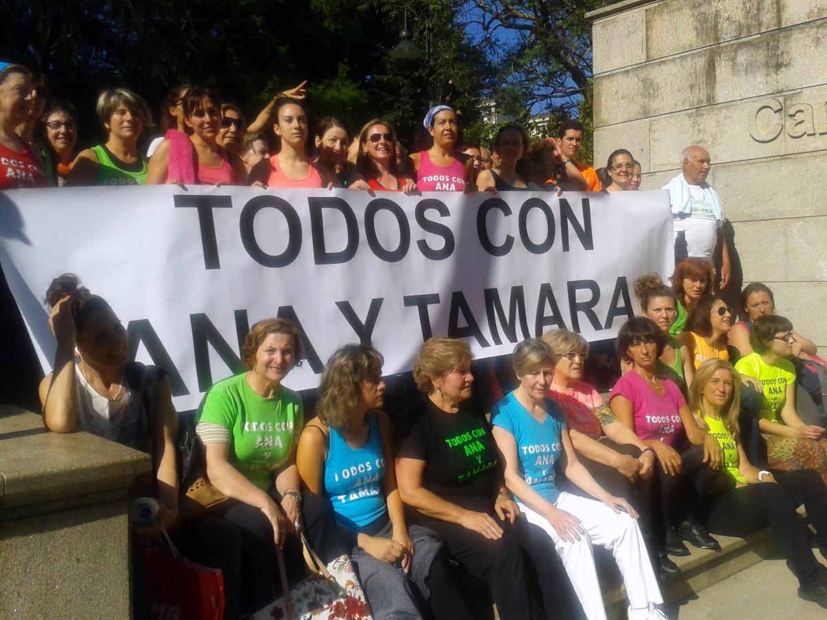 Ana y tamara presentan su petici n de indulto ante el for Piscina campolongo