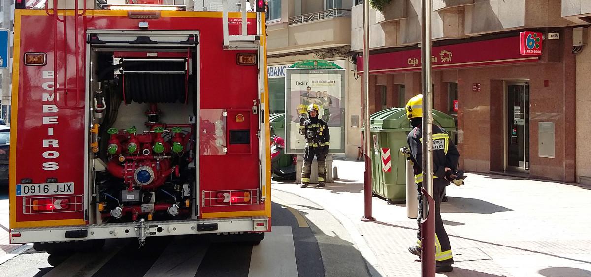 Una falsa alarma por un incendio en una oficina bancaria - Oficina virtual de caja espana ...