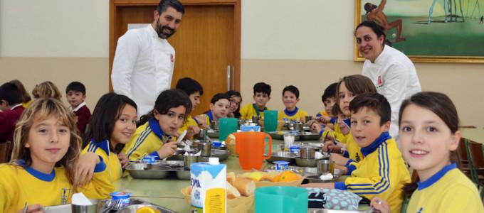 Menús con estrela Michelín nos comedores escolares pontevedreses ...