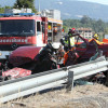 Accidente mortal na PO-531, en Alba