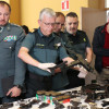 Arsenal de armas ilegais intervido pola Garda Civil