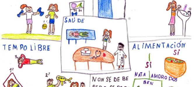 Alumnado de Barro, Cuntis, Moraña e Portas resaltan os hábitos de ...