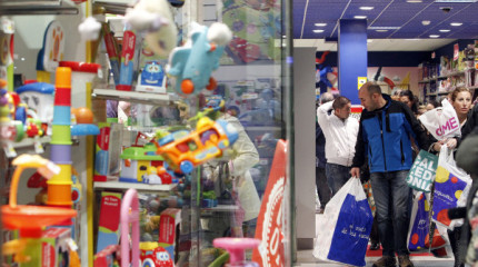 Os Reis Magos ultiman as últimas compras