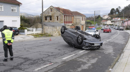 Accidente en Mourente