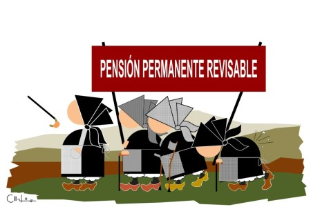 Os Recortiños: Pensión permanente revisable